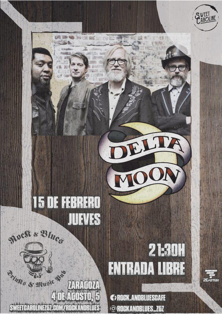 delta moon rock blues zaragoza