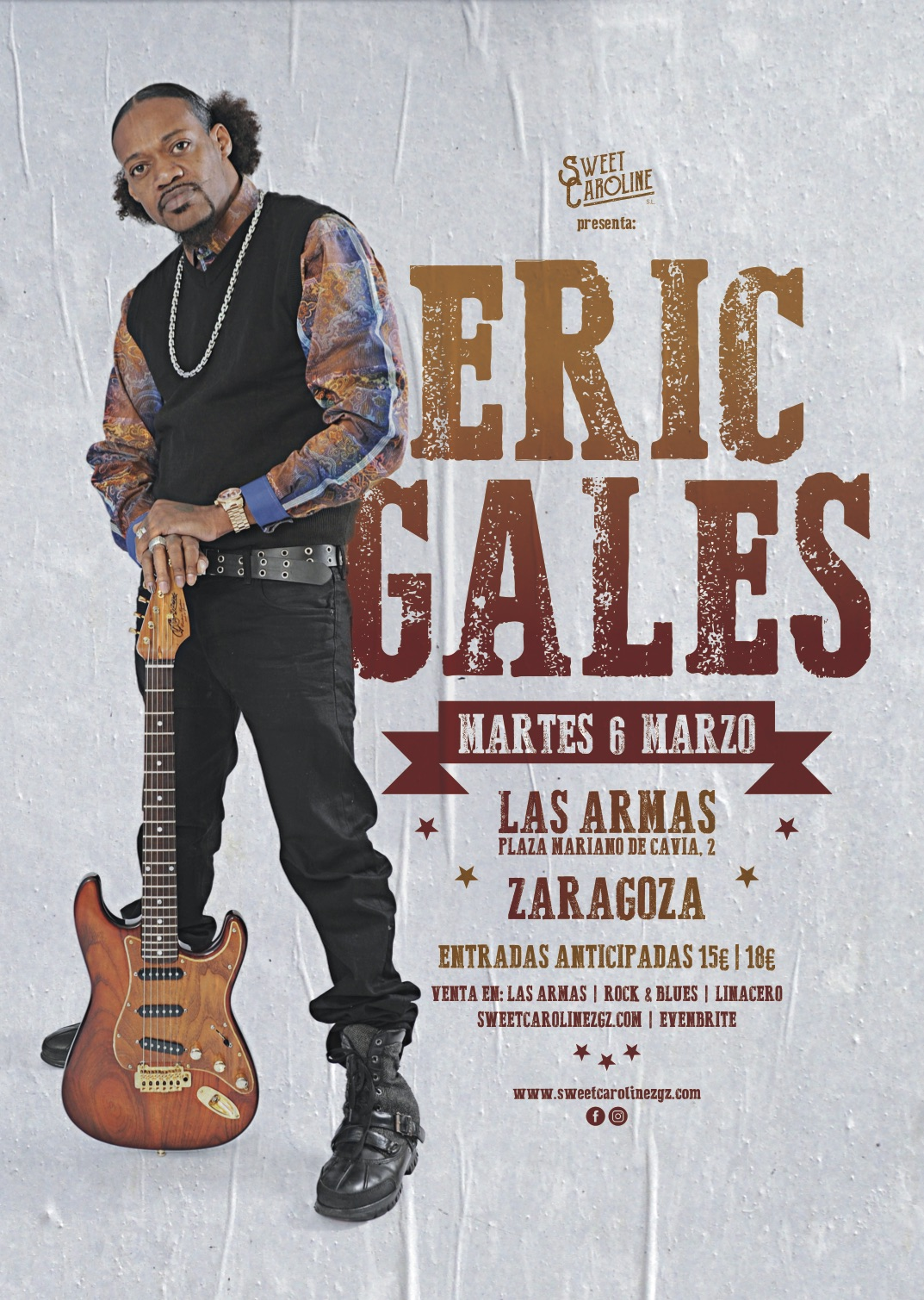 eric gales concierto blues rock zaragoza