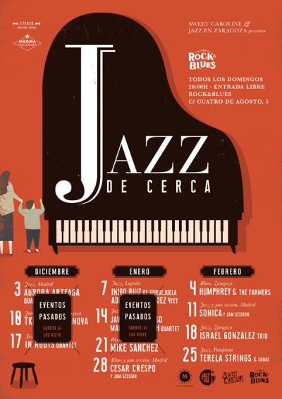 jazz de cerca Zaragoza Rock Blues