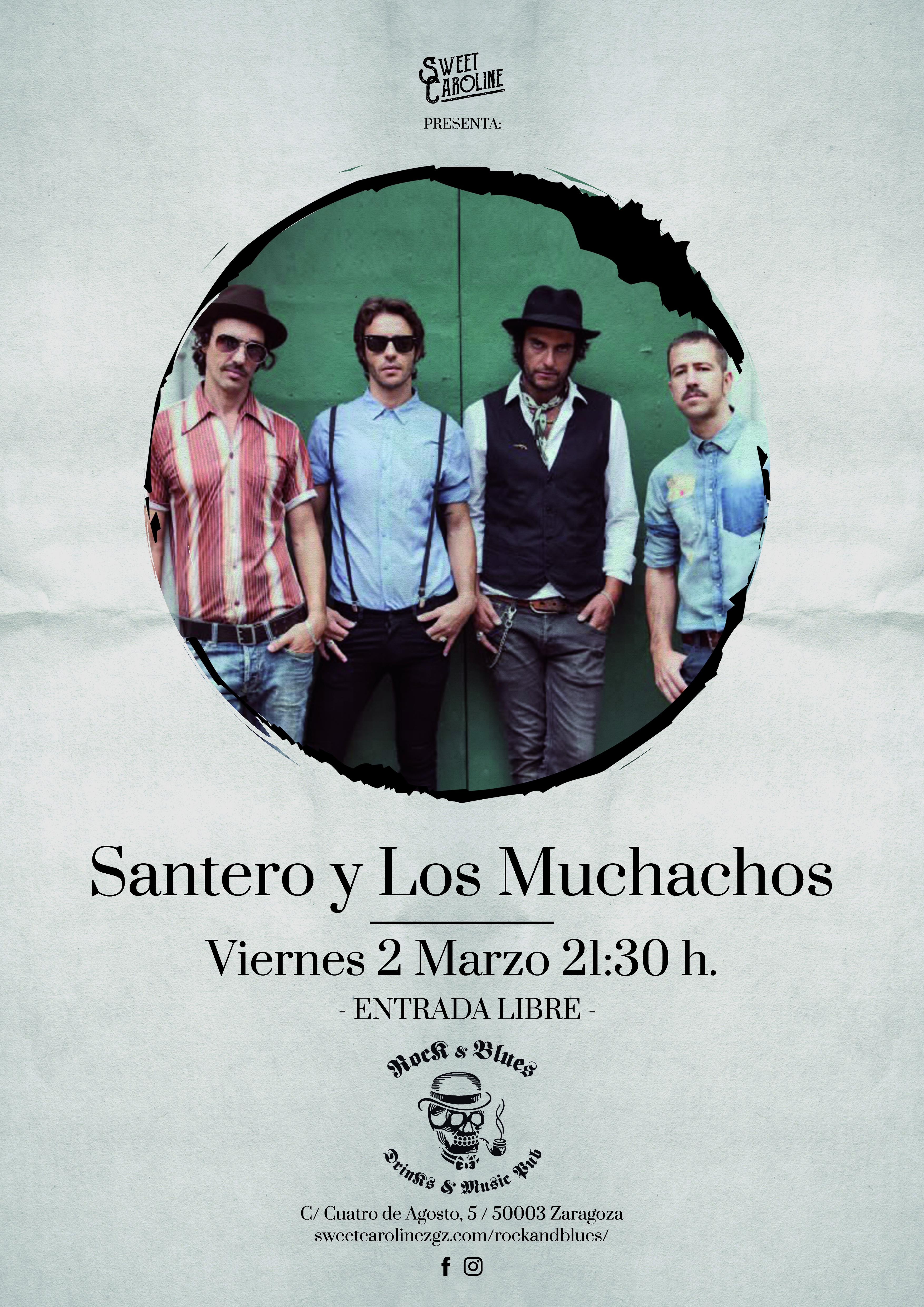 Santero Muchachos Concierto Rock Zaragoza