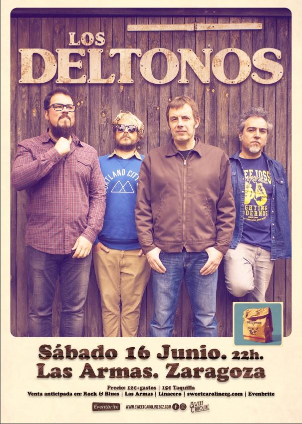 los deltonos Concierto Rock Zaragoza